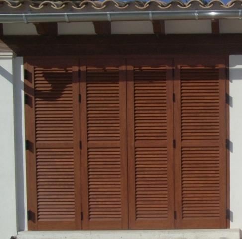 Persianas mallorquinas de aluminio for Precios de ventanas con persianas